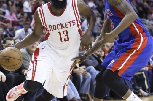 James Harden Records A Triple-Double As He Leads The Rockets To A Victory Against The Pistons (Video)