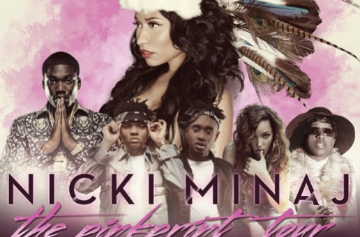 Meek Mill, Tinashe, & Rae Sremmurd To Join Nicki Minaj's 'The Pinkprint' Tour