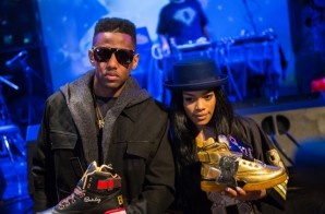Fabolous And Teyana Taylor Celebrate The Release Of TheEwing Fame & War Project Sneakers At SOB's!