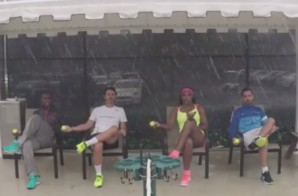 "Serena Williams Recreates Beyonce's ""7/11″ Video"