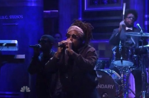 """Wale Performs """"The Girls On Drugs"""" On Fallon (Video)"""