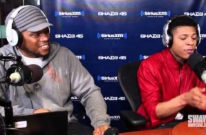 'Empire' Star Yazz The Greatest Freestyles On Sway In The Morning (Video)