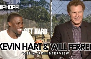 Kevin Hart & Will Ferrell Talk 'Get Hard' Movie, Jail Pickup Lines & More with HHS1987 (Video)