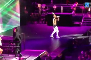 Trey Songz Brings Nicki Minaj On Stage During The 'Between The Sheets' Tour In LA! (Video)