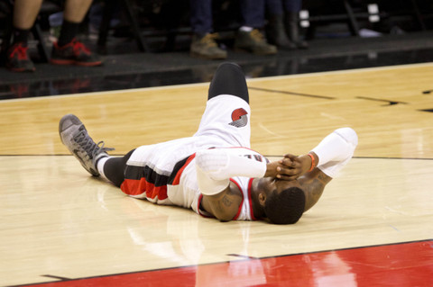 Portland Trailblazers Guard Wesley Matthews Out For The Remainder Of The Season With A Torn Achilles