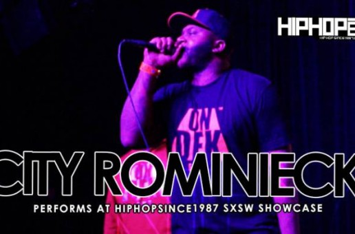 City Rominiecki Performs At The 2015 SXSW HHS1987 Showcase (Video)