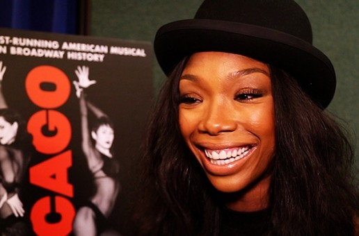 Brandy Talks Chicago The Musical & More With Hot 97 (Video)