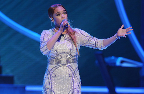 "Faith Evans Covers J.Cole's ""Be Free"" On BET's #BlackGirlsRock (Video)"