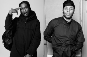 A$AP Rocky Invites Yasiin Bey On Stage In London! (Video)