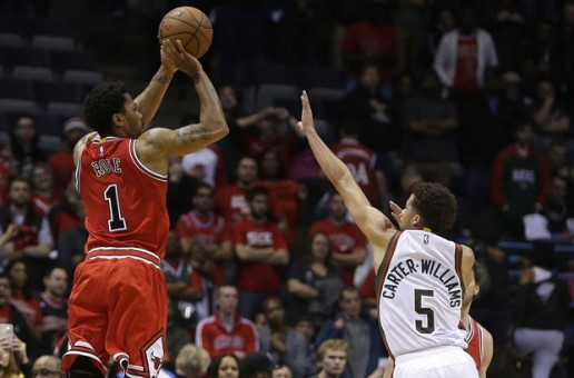 Derrick Rose Drops 34 Points As The Chicago Bulls Defeat The Milwaukee Bucks In Double OT (Video)