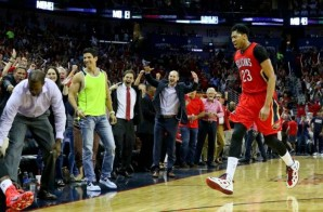 Go Hard Or Go Home: Anthony Davis Leads The Pelicans Pass San Antonio; New Orleans Claims The 8th Seed In The West (Video)