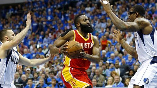 Fear The Beard: James Harden's 42 Points Leads Houston Past Dallas; Rockets Lead Series (3-0) (Video)