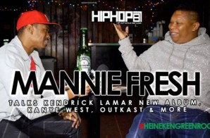 Mannie Fresh Talks Kendrick Lamar New Album, Kanye West, Outkast & More (Video)