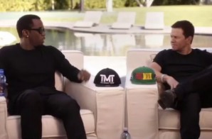 Show Me The Money: Diddy & Mark Wahlberg Bet $250K On Mayweather vs. Pacquiao (Video)