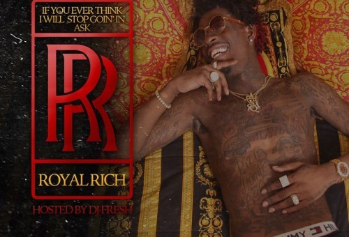 "Rich Homie Quan Unveils Cover Art & Tracklist For Upcoming Project, ""If You Ever Think I Will Stop Goin' In Ask RR"""