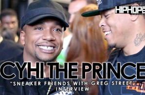 Cyhi The Prince Talks Working On His New Album & More With HHS1987 At Sneaker Friends ATL (Video)