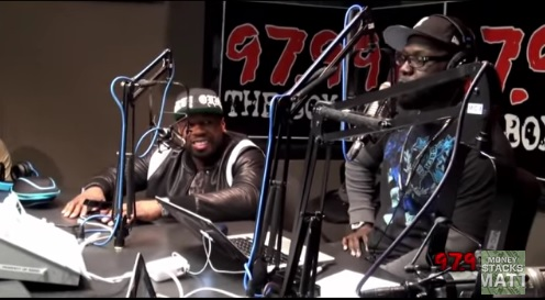 50 Cent Keeps It As Real As He Can: Talks The Game, Diddy, & more on 97.9 The Box (Video)