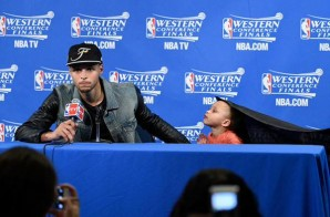 "Riley Curry Celebrates Her Dad's Victory & Raps Big Sean's Blessed"" (Video)"