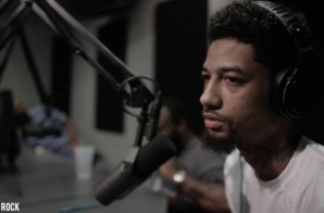Fresh Home!!! PnB Rock Spits A Freestyle On DJ Cosmic Kev Come Up Show (Video)