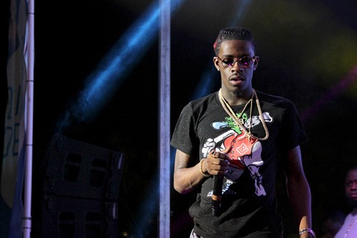 AUSTIN, TX - MARCH 19:  Rich Homie Quan performs onstage at the Pandora Discovery Den showcase during the 2015 SXSW Music, Film + Interactive Festival at The Gatsby on March 19, 2015 in Austin, Texas.  (Photo by Andy Pareti/Getty Images for SXSW)