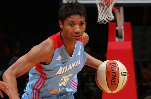 She Got Game: Angel McCoughtry Sinks Game-Winning Three Against The Washington Mystics (Video)