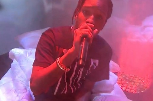 A$AP Rocky Performs On Jimmy Fallon (Video)