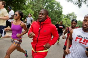 Kevin Hart Host A Spontaneous 5K Run At Piedmont Park In Atlanta (Video)