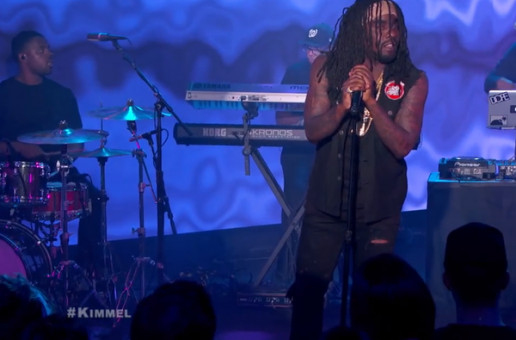 """Wale Performs """"The Matrimony"""" & """"Girls On Drugs"""" On 'Jimmy Kimmel Live!' (Video)"""