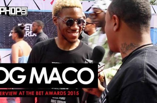 OG Maco Talks The XXL Freshman List, Grinding To The Top & His Upcoming Album 'Children Of The Rage' With HHS1987 On The BET Awards Red Carpet (Video)