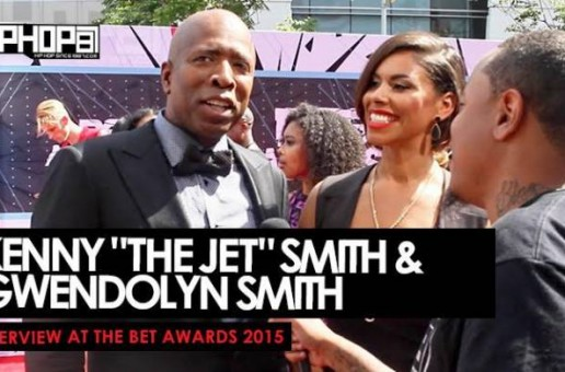 "Kenny ""The Jet"" Smith & Gwendolyn Smith Talk ""Meet The Smiths"", The Knicks Draft Pick & More On The BET Awards Red Carpet (Video)"