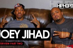 Joey Jihad Talks New Project Dropping In July, Mugga Monday Freestyle Series, Philly & More (Part 2) (Video)