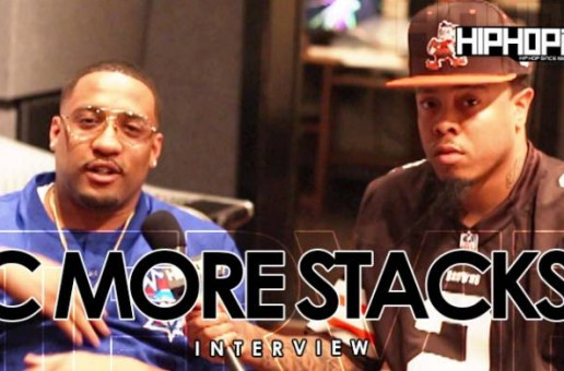 "C More Stacks Talks 'Pints & Pounds', His Single ""Wrapper"" & More With HHS1987 (Video)"