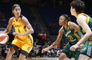 Tulsa Shock Star Skylar Diggins Out For The Season With A Torn ACL