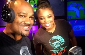 "Big Tigger & Jemele Hill Recreate ""Tha Basement"" For A Special ESPN ""His & Hers"" Intro Freestyle (Video)"