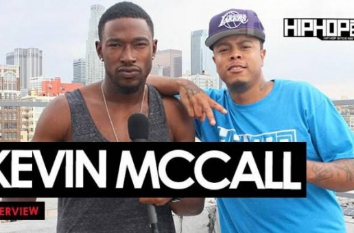 "Kevin McCall Talks His Upcoming Album, ""Waterbed"" Featuring Chris Brown, South Carolina's Confederate Flag, Acting & More With HHS1987 (Video)"