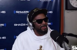 """R. Kelly Steps Up Next For The '5 Fingers Of Death"""" Freestyle On Sway In The Morning (Video)"""