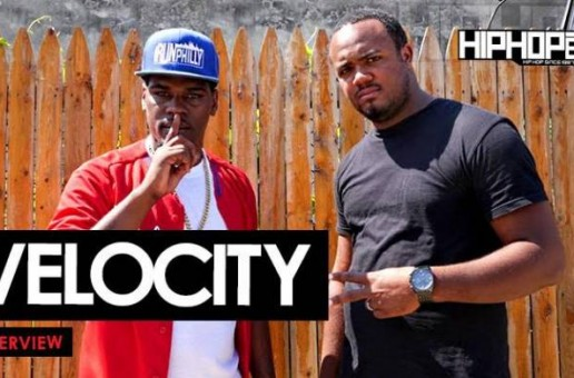 Velocity Talks Upcoming 'Persistence' Mixtape, His Record Label, & More with HHS1987 (Video)