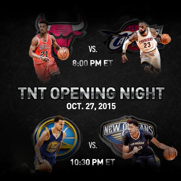 Warriors New Stadium Opening: NBA Opening Night: Cavs Vs. Bulls; Pelicans Vs. Warriors