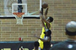 DeMar DeRozan Completes A Nice Dunk Over James Harden In The Drew League Championship Game (Video)