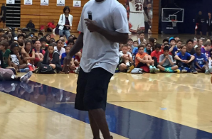 What Are Those?: Michael Jordan Rocks A Exclusive Pair Of Air Jordan 1's (Photos)