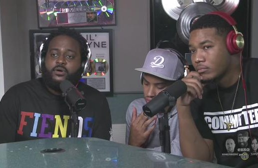 Dreamville's Bas, Cozz, and Omen Sits Down With On Ebro In The Morning (Video)