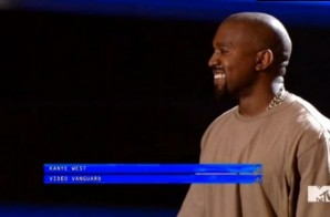 Kanye West Receives Video Vanguard Award At 2015 VMAs (Video)