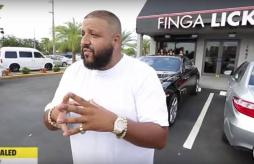 "DJ Khaled's ""Finga Licking"" Restaurant Opens In Miami!"