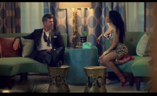 Robin Thicke – Back Together Ft. Nicki Minaj Video