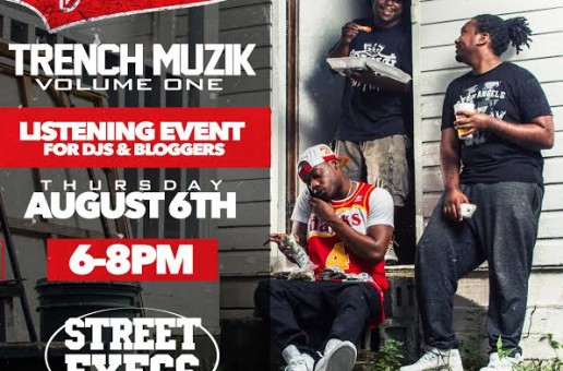 Get A Early Listen Of Spodee's New Project 'Trench Muzik' Today At Street Execs Studios