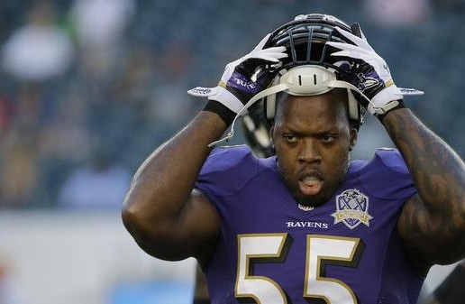 Bad Break: Baltimore Ravens Star Terrell Suggs Season Is Over With A Torn Achilles