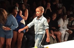 """Leah Still Graces The New York Fashion Week Runway During The """"Kids Rock Fashion Show"""" (Photo)"""