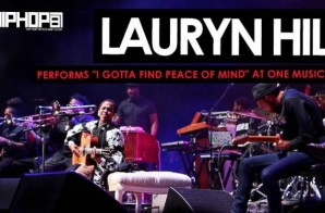 """Lauryn Hill Performs """"I Gotta Find Peace of Mind"""" During One Music Fest 2015 (Video)"""