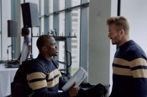 Kevin Hart Becomes David Beckham In New H&M Ad! (Video)