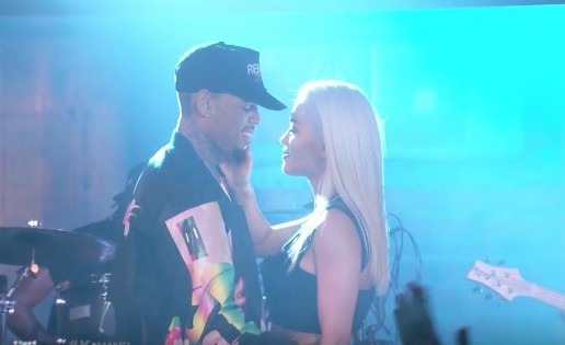 "Rita Ora & Chris Brown Pefrom ""Body On Me"" On Jimmy Kimmel Live (Video)"